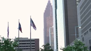 Office Buildings in downtown Houston Texas