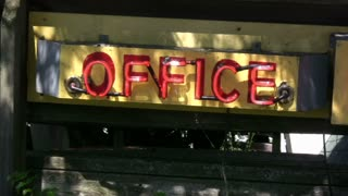 Office No Vacancy Sign