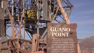 Old cable car station at Guano Point in West Rim of Grand Canyon 4k