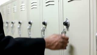 Opening a School Locker