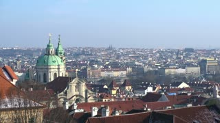 Overview of Prague Czech Republic.