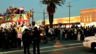 Papa Joes Float in Endymion Parade