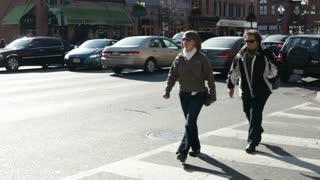 Pedestrians in Georgetown Washington DC