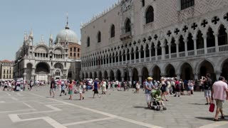 Piazza San Marco in Venice Italy