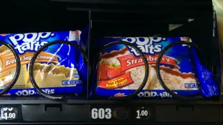 Poptarts coming out of vending machine with sound