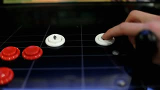 Pressing 1 and 2 Player Buttons