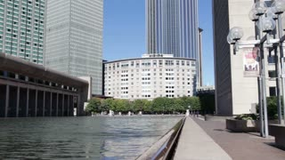 Prudential Center Plaza III in Boston tilt shot.