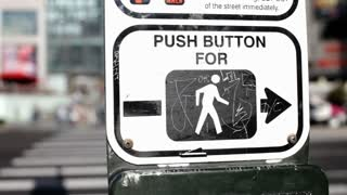 Push Button Intersection with Cars
