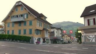 Quiet little town in Switzerland