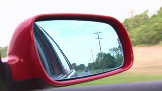 Rear View Mirror while Driving