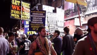 Religious activists during 2012 Mardi Gras