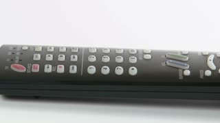 Remote Control rotates on White