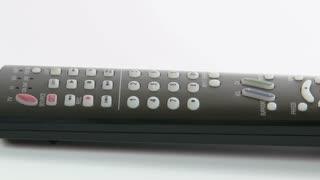 Remote Control rotates on White
