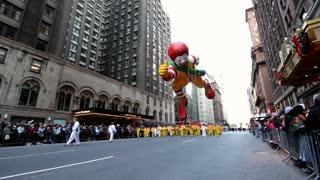 Ronald McDonald balloon in Macy's parade