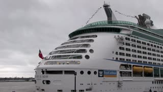 Royal Caribbean Cruise Line at Port