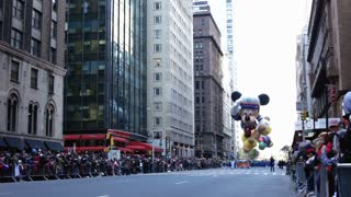 Sailor Mickey Mouse in Macy's parade
