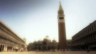 Saint Marks Square Venice wide shot