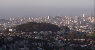 San Francisco City on coast 4k