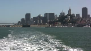 San Fransisco from Boat View