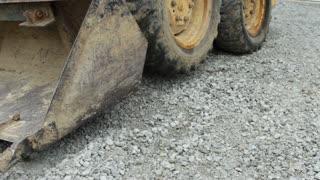 Scoop of construction equipment