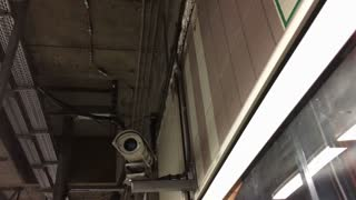 Security camera system in underground subway system