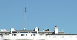 Security on top of The White House 4k
