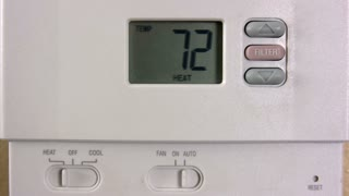 Setting Thermostat Temperature