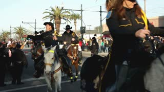 Sheriffs in Parade on Horses