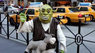 Shrek in New York City