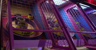 Skeeball game at arcade 4k
