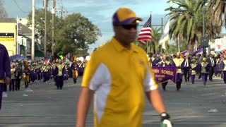 St Augustine High School Marching band Endymion 2014