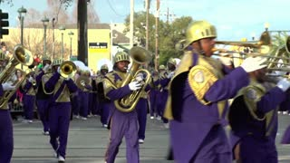St Augustine High School marching in Endymion 2014