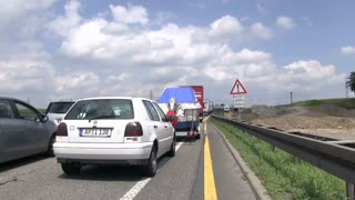 Stand still traffic on Autobahn