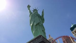 Statue of Liberty at Las Vegas casino