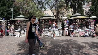 Street Market in Venice Italy