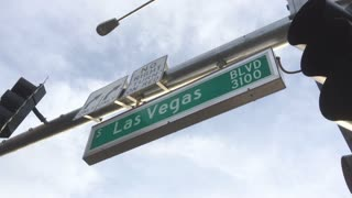 Street sign for South Las Vegas Boulevard