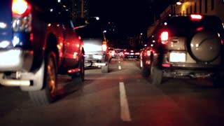 Stuck in City Traffic