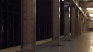 Subway stop at Houston Street
