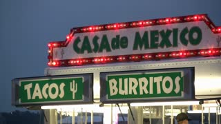 Tacos and Burrito Stand