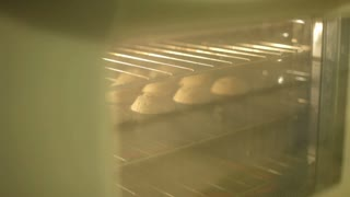 Taking Muffins out of oven ambient light
