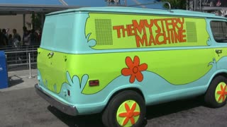 The Mystery Machine at Universal Studios