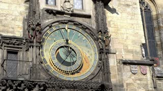 The Prague astronomical clock know as Prague orloj