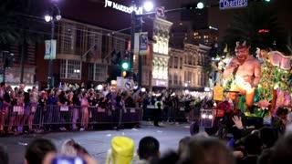 The Rebaiyat float in mardi gras parade