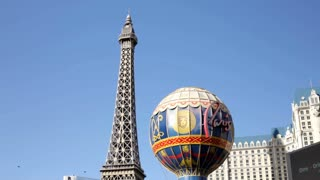 Tilt of Paris Casino in Las Vegas