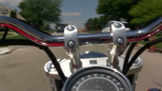 Time Lapse of Motorcycle Ride