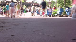 Time Lapse of People at Park