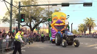 Title Float in Endymion Parade 2014