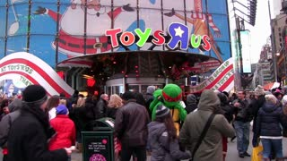 Toys R Us store weekend before Christmas 2012