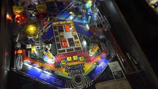 Twilight Zone Pinball game at the Arcade 4k