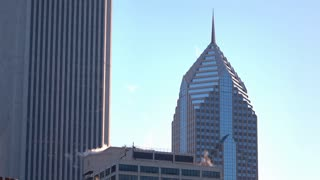 Two Prudential Plaza building downtown Chicago 4k